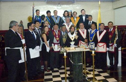 Décimo Tercer Aniversario de la Logia Luz de Colombia Nº 1 del Oriente Central de Colombia, sede Bogotá – Boletín Informativo