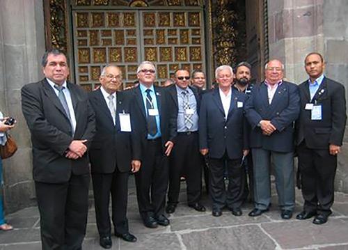 Agradecido TAF a la Gran Logia PATRIOTICA DE PERU
